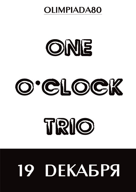 one o'clock trio